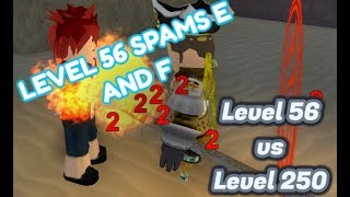 Trapping someone with E and F   ROBLOX Arcane Adventures Test Universe