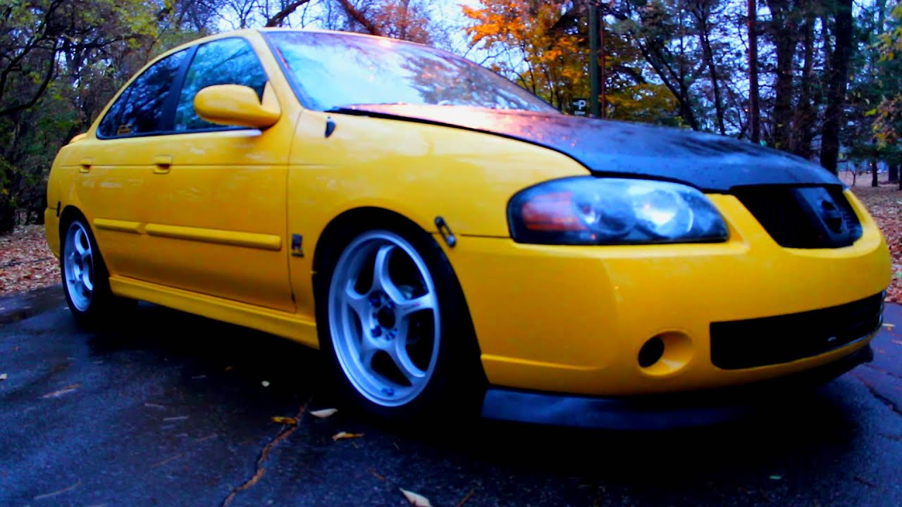 2004 Procharged Sentra Se R Specv Youtube