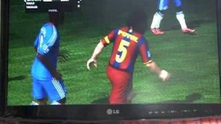 FIFA11 Demo Gameplay. Chelsea V Barcelona