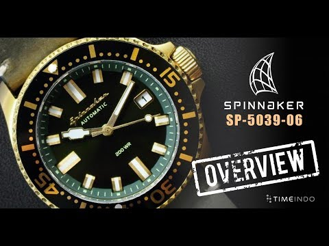 [PRODUCT OVERVIEW] Spinnaker Spence 41.5mm SP-5039-06 Vintage Green