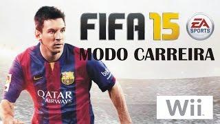 Fifa Soccer 15 modo carreira Nintendo Wii