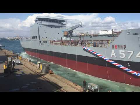6200Dwt Logistic Support Vessel for Turkish Navy
