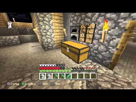 Joe and Davian minecraft lets play ep.1 Mining adventure