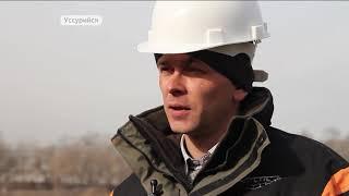 В Уссурийске началось строительство второго ледового дворца