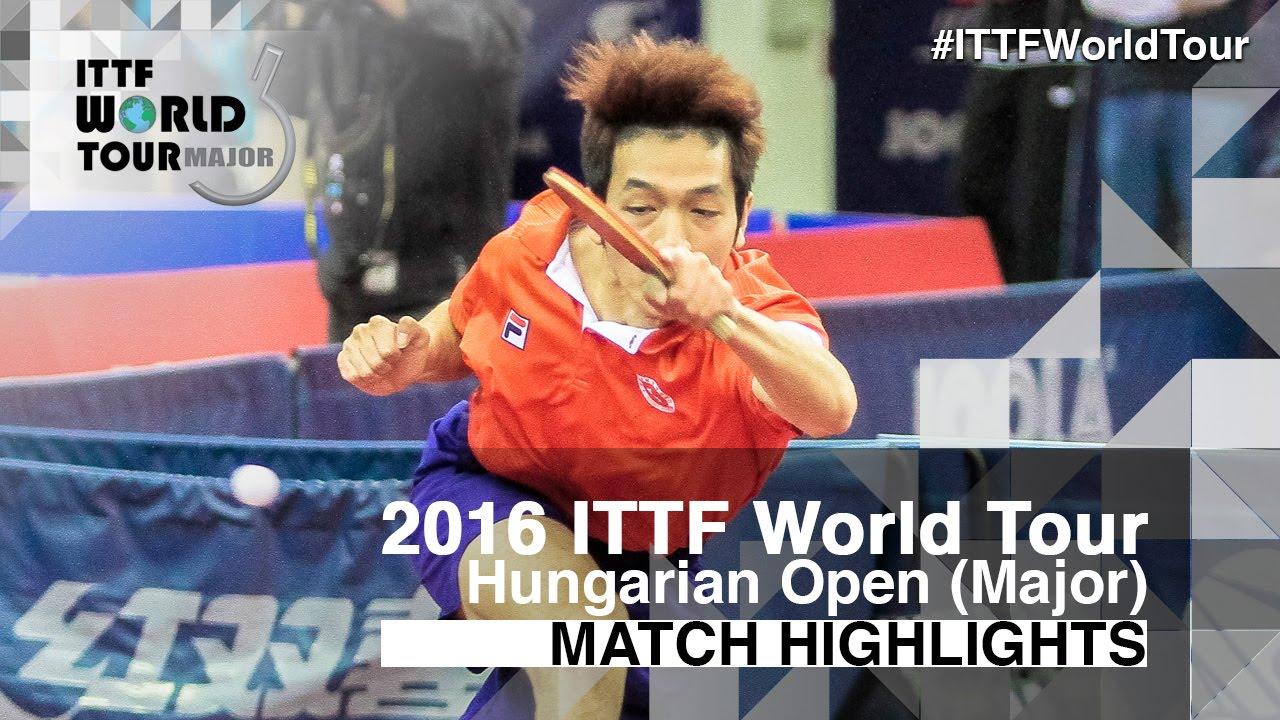 Hungarian Open 2016 Highlights: HO Kwan Kit vs CASSIN Alexandre (U21-R16)