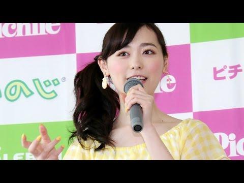 福原遥、フルーツの食べ方がワイルド? フルーツ絞り器発売イベント1 #Haruka Fukuhara #event