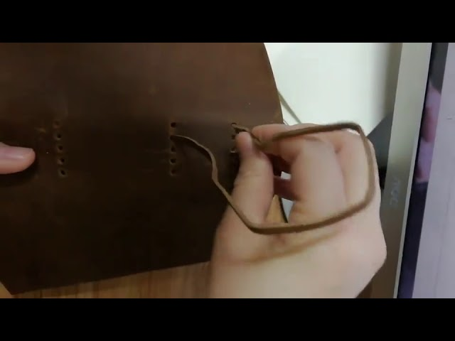 Product Video - Leather Journal Paper Refill⠀