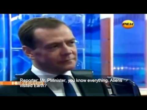 The highest secrets, the governments of the world, about aliens Prime Minister of Russia
