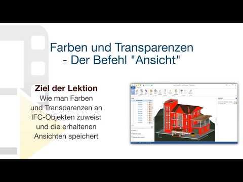 """Tutorial von usBIM.viewer+ - Farben und Transparenzen - Der Befehl """"Ansicht"""" - ACCA software thumbnail"""