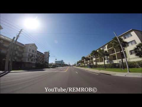 Driving Madeira Beach, Florida Spring Break 2016