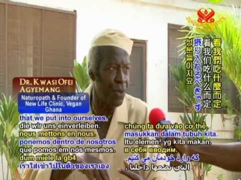 Raw Vegan: Healing with Ghana's Dr. Kwasi ofei Agyemang