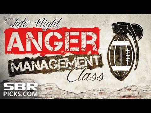 LIVE! Monday Night Football Vikings vs Bears | NFL Betting | Late Night Sports Anger Management