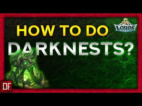 Lords Mobile - How To Attack Darknest