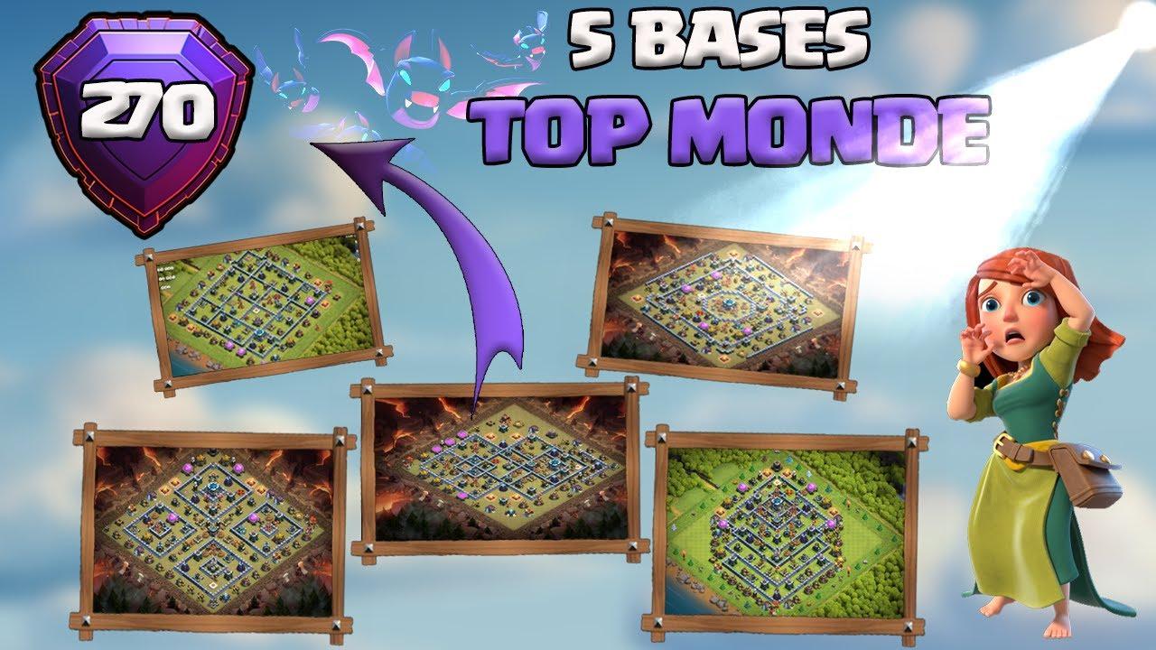 5 BASES LÉGENDE TOP MONDE/FR + LIEN !