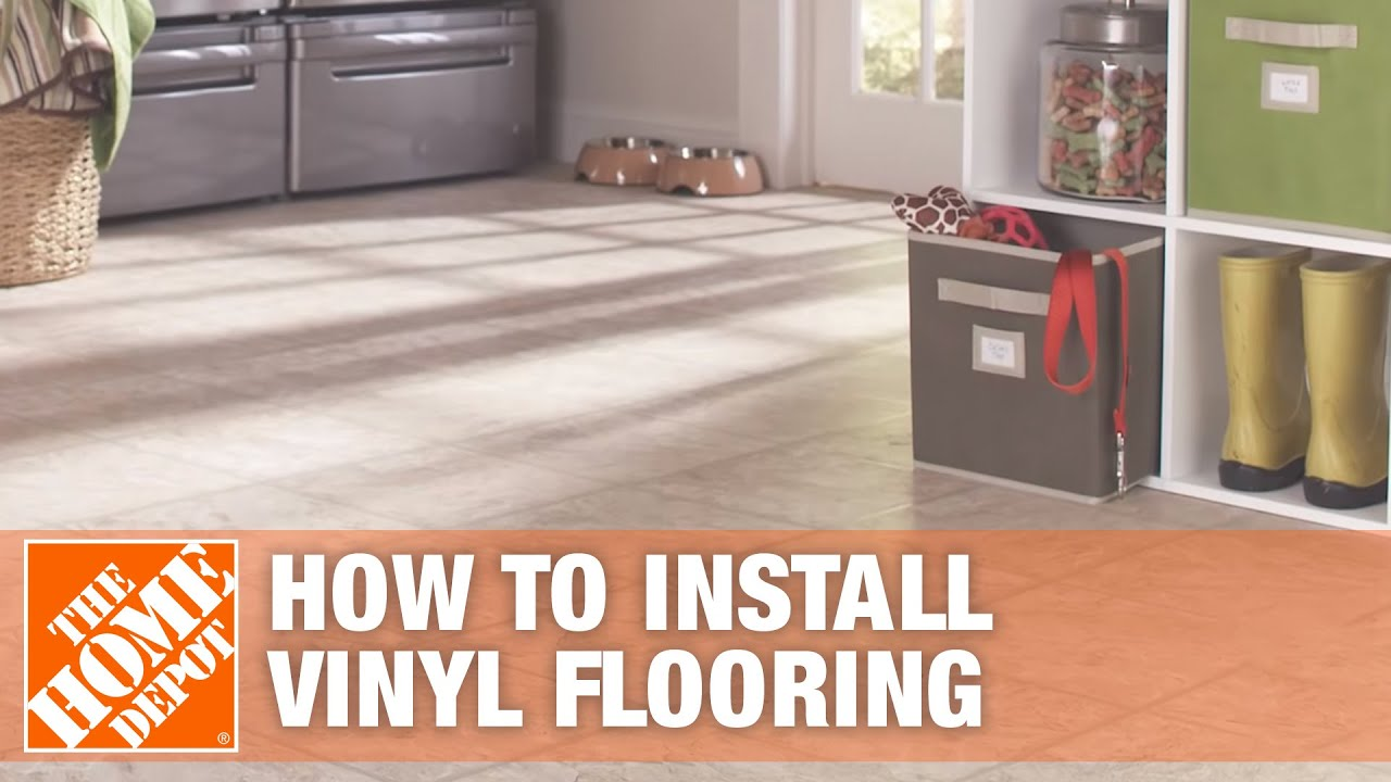 How To Install Vinyl Flooring Overview Youtube