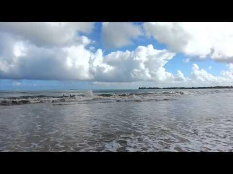 People surfing at Isla Verde Beach (20140209 093750)