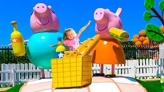 PEPPA PIG LAND Theme Park / в парке Свинки Пеппы.