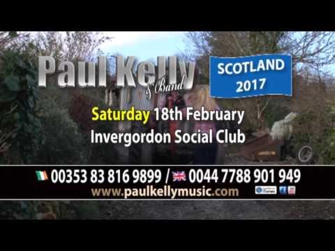 Paul Kelly Ad 2017 Scotland Tour