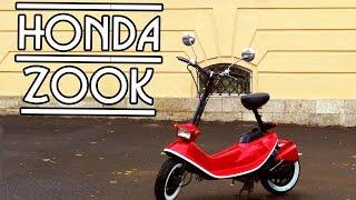 Honda Zook - коротенький обзор....скутера???