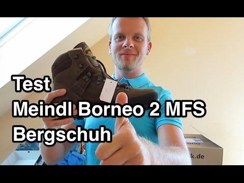 Mein Wanderschuh Meindl Borneo 2 MFS Test und