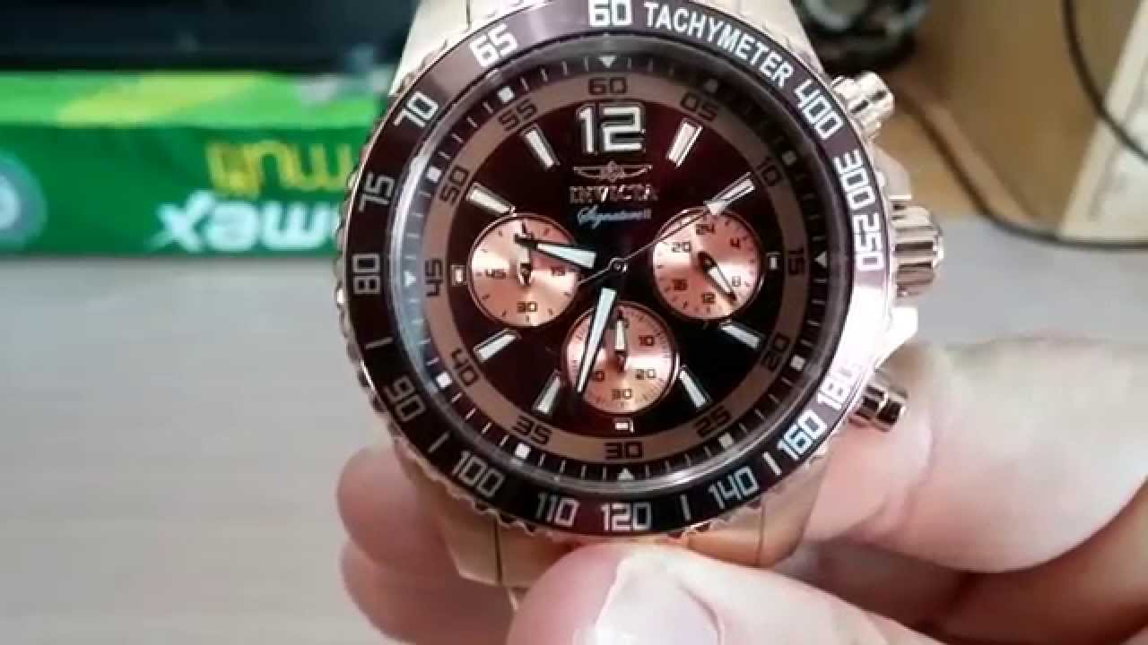 119588d07d0 Invicta Signature II watch review - YouTube