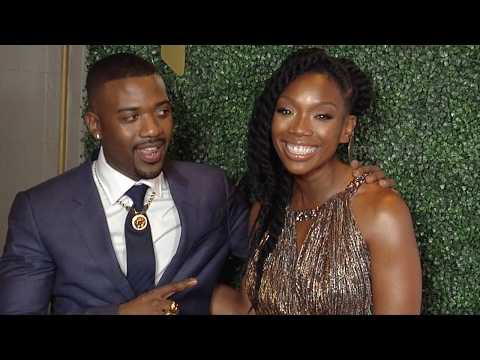 Ray J Sings Happy Birthday to Brandy 2017 Primary Wave Pre-Grammy Event Red Carpet