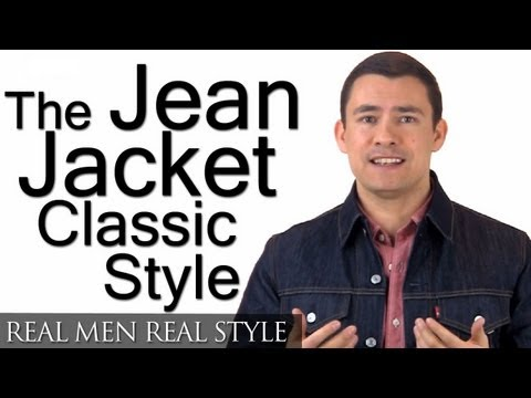 How To Buy A Jean Jacket | Man