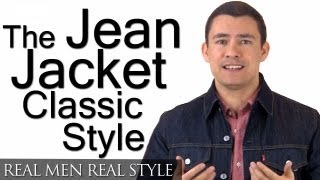 How To Buy A Jean Jacket | Man's Guide To Denim Jackets | Levis Trucker Jacket | Wrangler Denim Coat