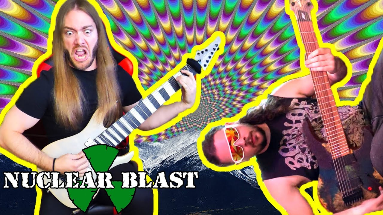 RINGS OF SATURN - Mental Prolapse (OFFICIAL GUITAR PLAYTHROUGH)