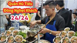 Quán Hủ Tiếu Nam Vang Đông khách Nhất Quận 1 Sài Gòn | Saigon Travel