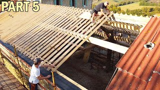 Restoring an Ancient Barn Roof | Triangular Rafters