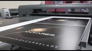 Impression sur Alu Panel - HP Scitex FB 700