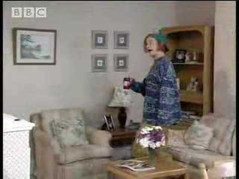 Perry returns from Manchester, erm ... just slightly influenced  hilarious comedy video   BBC comedy