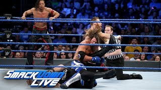 HINDI - AJ Styles & Shinsuke Nakamura vs. Kevin Owens & Sami Zayn: SmackDown LIVE, 30 January, 2018