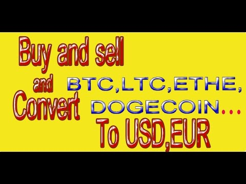 How To Convert BTC, LTC, DOGECOIN, ETH... To USD