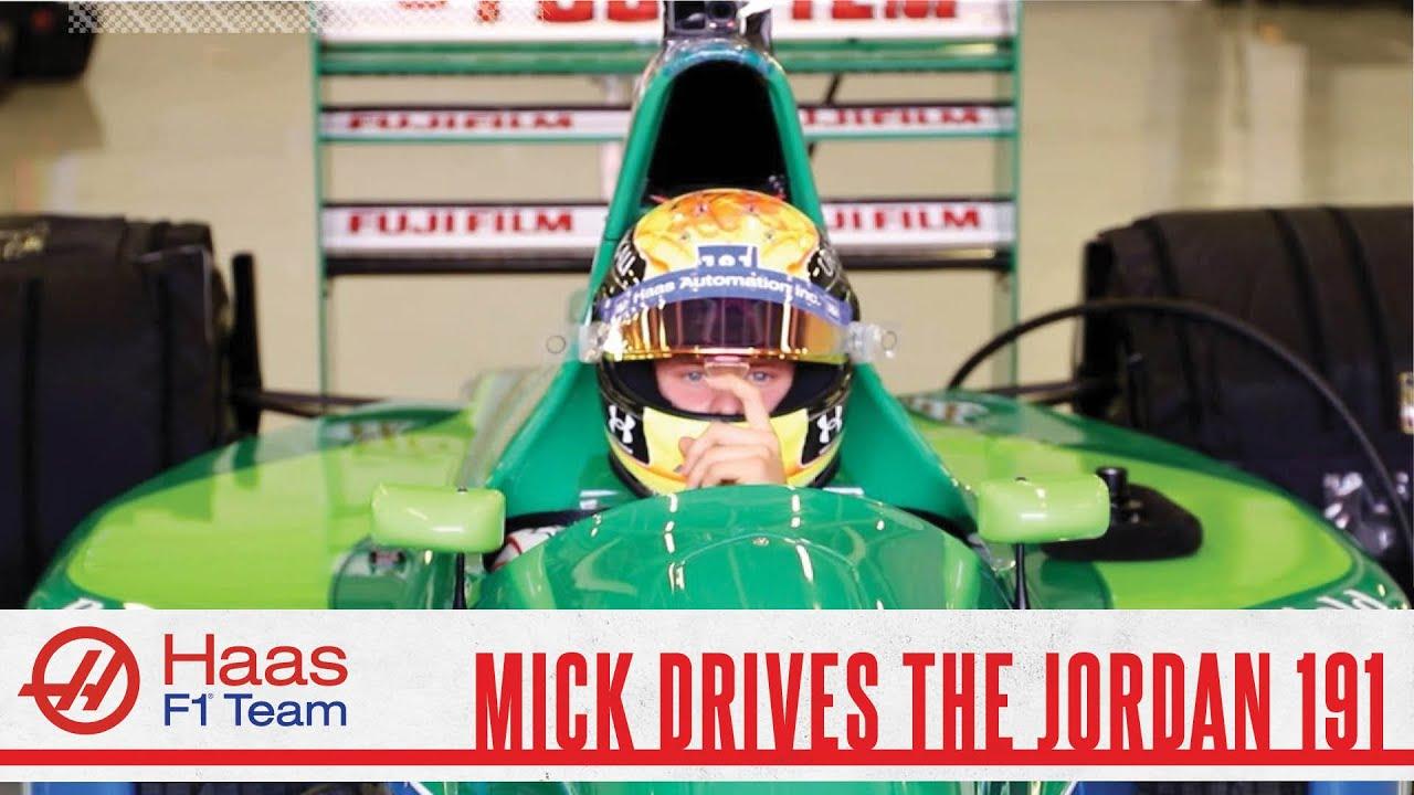 Behind the Scenes: Mick Schumacher in the Jordan 191