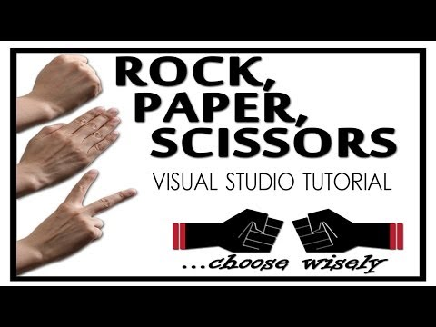 How to make a Scissors Paper Rock Game [Beginner Difficulty]