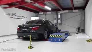 Dyno Run - BMW M5 V10 with IPE frequency intelligent exhaust @ SimonMotorSport Dubai