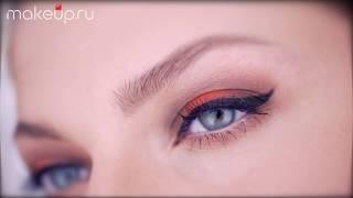 Макияж со стрелками для голубых глаз: видеоурок