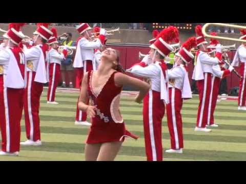 2008 Nebraska Cheerleaders & Scarlet Dance Team