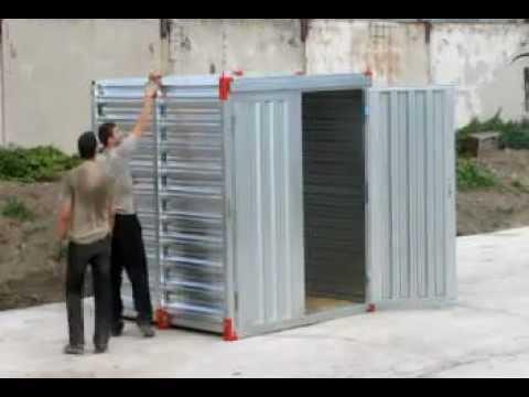 видео: Склад-модуль. Процесс сборки