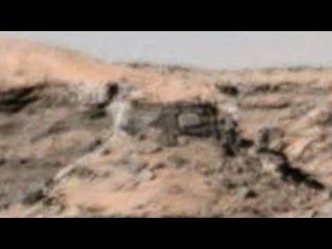 Martian Ruins Curiosity Rover
