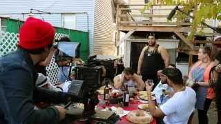 BEHIND THE SCENES - Paisanos Wylin Music Video