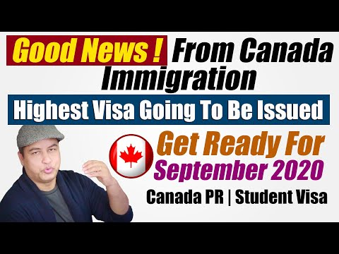 Good News From Canada Immigration April 2020 Highest Visa To Be Issued, Get Ready