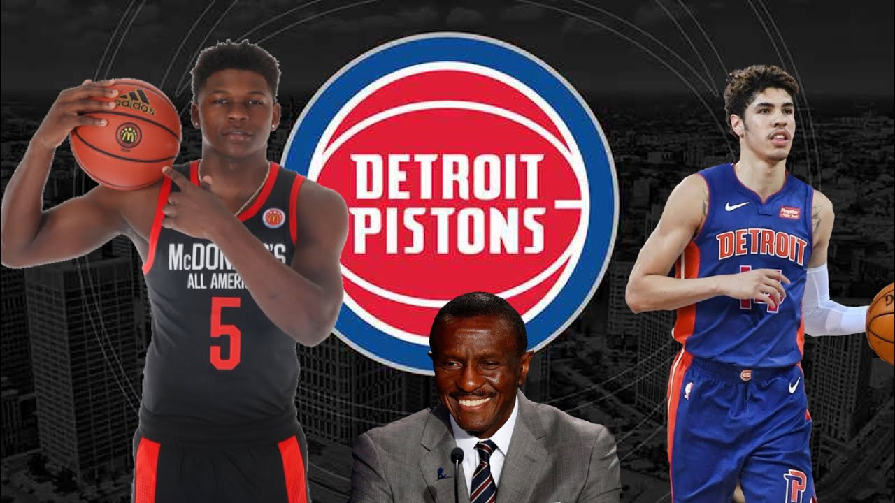 Latest NBA Mock Draft Has The Detroit Pistons Selecting Anthony Edwards 3RD Overall
