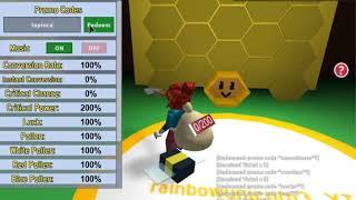 Code in Roblox Bee Swarm Simulator