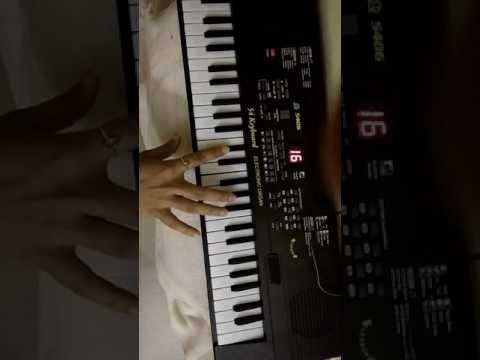 O kanha ab to murli ki madhur song on keyboard
