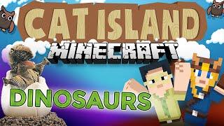 Minecraft: Cat Island #40 - Dinosaurs!