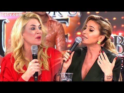 Tremenda pelea entre Flor Peña y Esmeralda Mitre en el Bailando