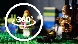 LEGO 360 Simpsons Funny Stop Motion Animation